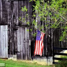 IMG_2656 The Flag and Old Barn