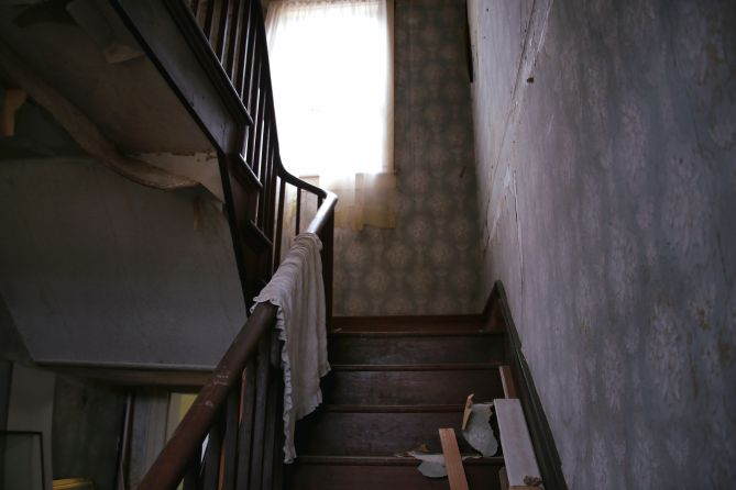 IMG_6346 Stairwell of the Old Potts Ebersole House