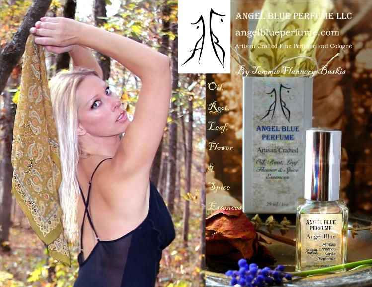 Tommie, Forest and Angel Blue Perfume Ad.jpg