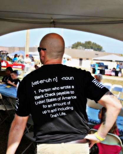 IMG_0872 Veteran saying on shirt